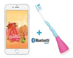 Playbrush inklusive App für Spaß beim Zähneputzen