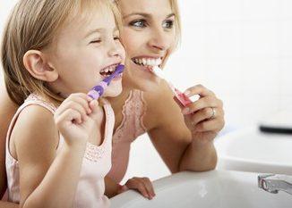 Richtig Zähneputzen